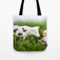 Baldy & Cow Tote Bag