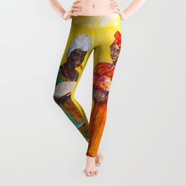 Flower Ladies Leggings