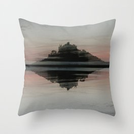 ST MICHAELS MOUNT CORNWALL Throw Pillow