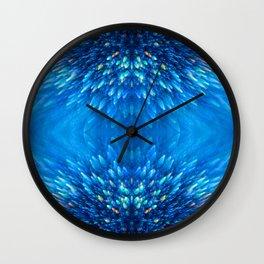 Blue Starlight Wall Clock