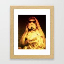 Another side Framed Art Print