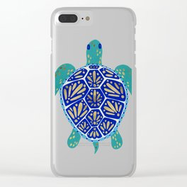 Sea Turtle Clear iPhone Case