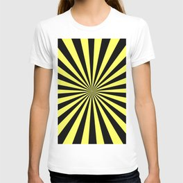 Starburst (Black & Yellow Pattern) T-shirt