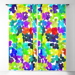 Colorful Patchwork - Point 2 Blackout Curtain