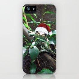 Santa Frog iPhone Case