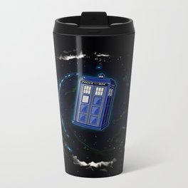 Space and Time and the Universe Metal Travel Mug