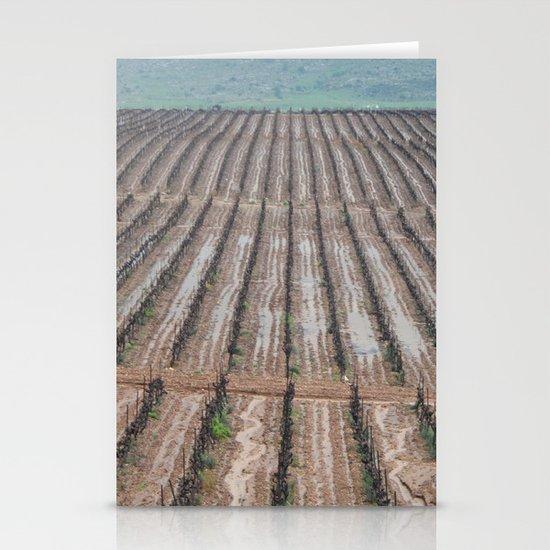 Rainy Wineyards Stationery Cards