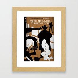 Hardboiled :: The Killer Inside Me :: Jim Thompson Framed Art Print