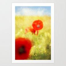 summer painting Art Print