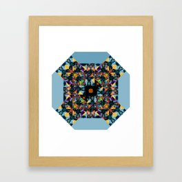Kandy kaos Framed Art Print