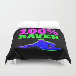 100% RAVER Duvet Cover
