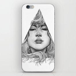 Triangle Portrait iPhone Skin
