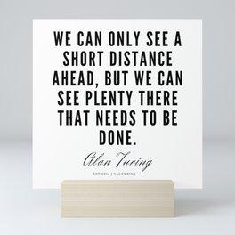 3      Alan Turing Quotes    190716   Mini Art Print