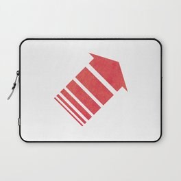 Red Orange Laptop Sleeve