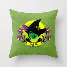 Social Justice Witch Throw Pillow