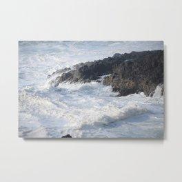 Surf And Stone Metal Print