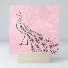 Indian Peacock Mini Art Print