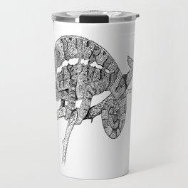 Panther Chameleon Travel Mug