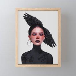 Jane Doe Framed Mini Art Print