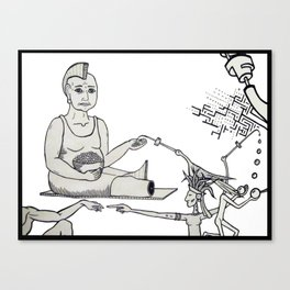 La Gorda Canvas Print