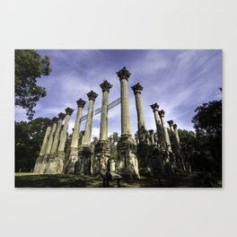 The Columns of Windsor Castle Canvas Print