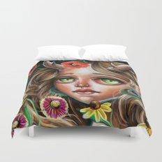 Wild Flower  Duvet Cover