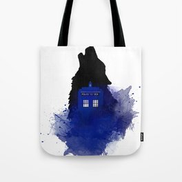 Dr.Who, Art, Design, Dr. Who Art, BadWolf, Bad Wolf Tote Bag