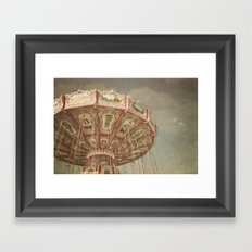 Vintage Swings Framed Art Print