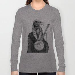 Vulture Banjo by Pia Tham Long Sleeve T-shirt