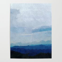 Glorious Majestic Mountains Poster