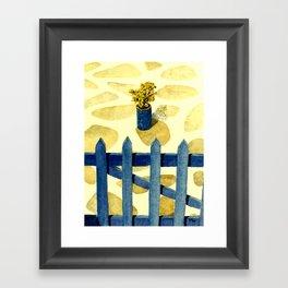 Greek Memories No. 8 Framed Art Print