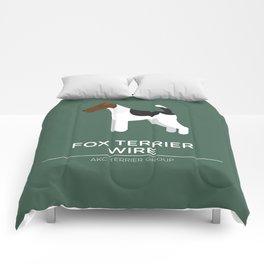 Fox Terrier Wire Comforters