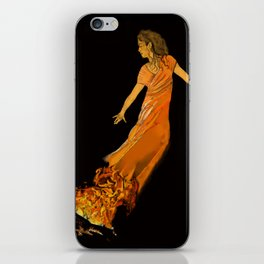 Fire Dancer - Muertos Series iPhone Skin