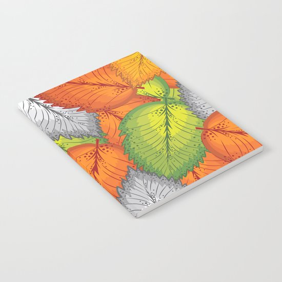Autumn leaves #1 Notebook