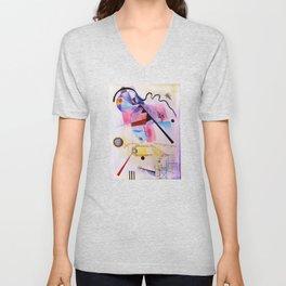 inspiration from Kandinsky . artwork Unisex V-Neck