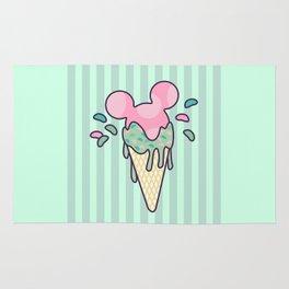 Mickey Icecream Splash Rug