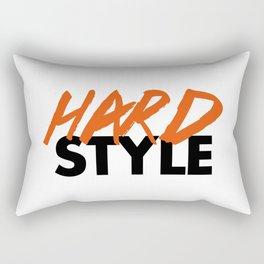 Dirty Hardstyle Rave Quote Rectangular Pillow