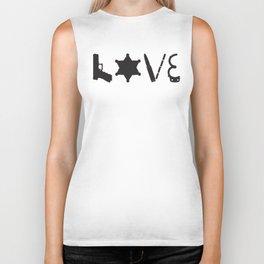 Love Deputy Sheriff Biker Tank