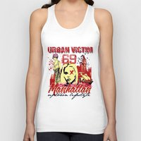 manhattan Tank Tops featuring Manhattan  by Tshirt-Factory