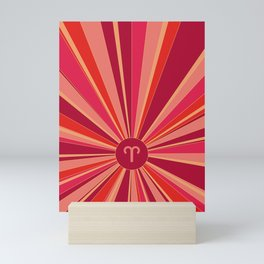 Aries - Zodiac colors series Mini Art Print