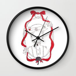 Practically Perfect in Every Way Wall Clock