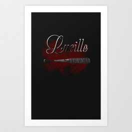 Bloodthirsty Luccile Art Print