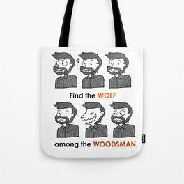 Mez The Woodsman Tote Bag