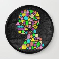 Mosaic Silhouette Wall Clock