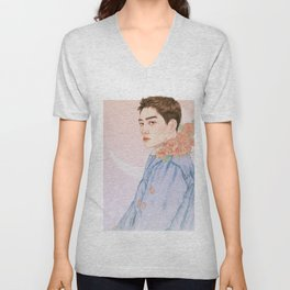 evening sky [d.o. kyungsoo exo] Unisex V-Neck
