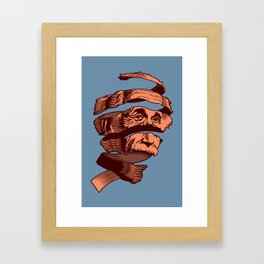 E=M.C. Escher Framed Art Print