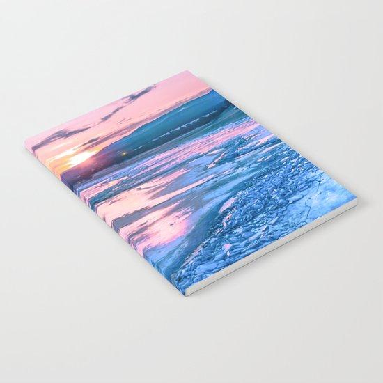 Baikal sunrise Notebook