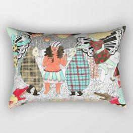 Hot Pursuit Rectangular Pillow