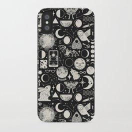 Lunar Pattern: Eclipse iPhone Case