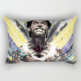 Hero by adamantium claws Rectangular Pillow